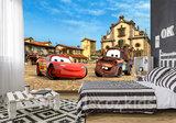 Cars vliesbehang McQueen en Takel XL