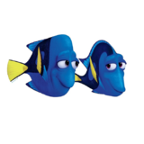 Finding Dory muurstickers