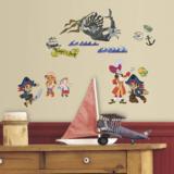 Kapitein Jake en Piraten muurstickers