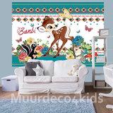 Bambi behang babykamer