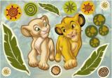 Lion King muurstickers komar