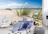 strand behang slaapkamer