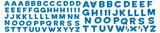 Toy Story muursticker Buzz Lightyear en alfabet