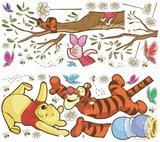 Winnie the Pooh muursticker Swinging for Honey
