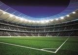 Voetbal stadion behang hoek 324VE