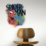 Spider-man muursticker Graffiti Burst RMK3618GM