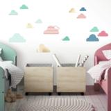 Wolken muurstickers RMK3615SCS