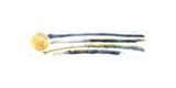 Palmbomen muurstickers Aquarel RMK2782GM