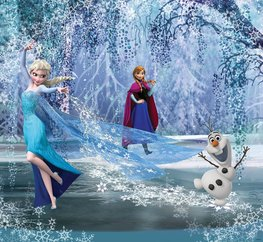 Disney Frozen fotobehang Forest