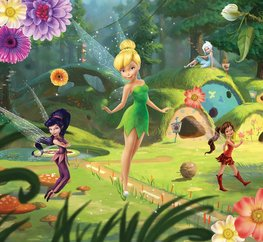Disney Fairies fotobehang Elfjes