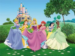 Disney Princess fotobehang XL