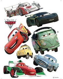 Cars Race muurstickers XL