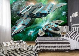Ruimtevaart behang Star Ships