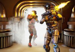 Ruimtevaart fotobehang Space Soldiers