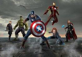 Avengers fotobehang Captain America L