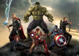 Avengers fotobehang Hulk XXXL