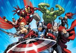 Avengers fotobehang XXXL