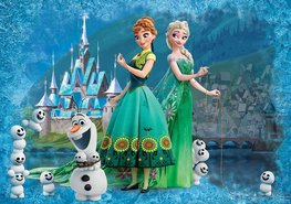 Frozen Fever behang XXXL
