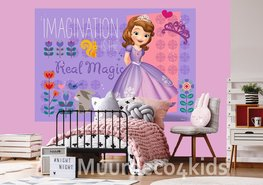 Disney Sofia fotobehang Real Magic L