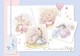 Winnie the Pooh behang Hugs V3