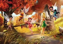 Disney Fairies XL fotobehang Magisch Bos