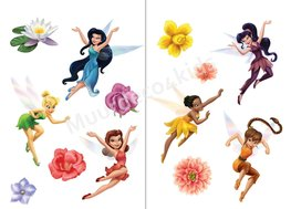 Disney Fairies muurstickers L