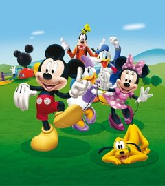 Mickey Mouse Clubhouse behang M