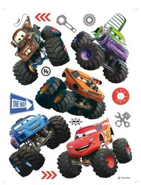 Cars Monster Trucks set XL muurstickers XL