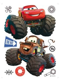 Cars Monster Trucks muurstickers XL