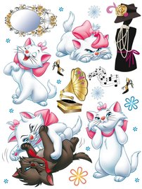 Disney Marie muurstickers XL