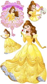 Disney Princess Belle muurstickers XXL