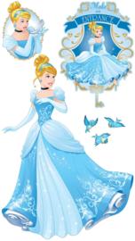 Disney Princess Assepoester muurstickers XXL