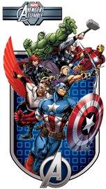 Avengers muurstickers Assemble XXL