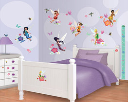 Disney Fairies muurstickers WT