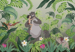 Jungle Book behang Welcome