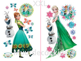 Frozen Fever muurstickers set XXL