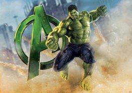 Avengers fotobehang Hulk L
