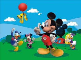 Mickey Mouse fotobehang XL