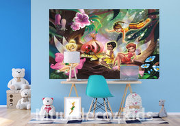 Disney Fairies behang V2