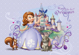 Sofia het prinsesje fotobehang XXL
