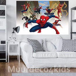 Spiderman behang Web Warriors V2