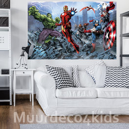 Avengers fotobehang V2 nw