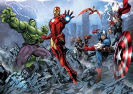 Avengers fotobehang XXXL nw