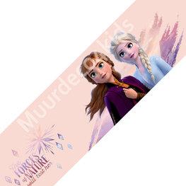 Frozen II behangrand Elsa en Anna