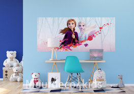 Frozen II poster Anna en Elsa H