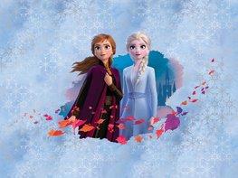 Frozen II vlies fotobehang Anna en Elsa
