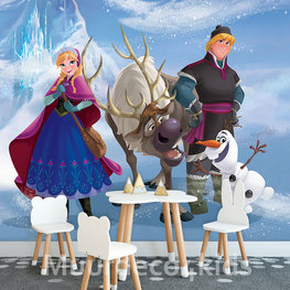 Frozen fotobehang Anna en Kristoff XL