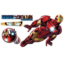 Iron Man muursticker XXL