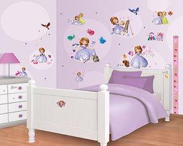 Sofia het prinsesje muurstickers WT