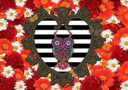 Melli Mello Style behang Owl